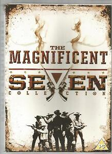 THE MAGNIFICENT SEVEN COLLECTION  UK R2 DVD SET  4 films inc ReturnGunsRide - <span itemprop=availableAtOrFrom>Northants, United Kingdom</span> - Returns accepted Most purchases from business sellers are protected by the Consumer Contract Regulations 2013 which give you the right to cancel the purchase within 14 days after the da - Northants, United Kingdom