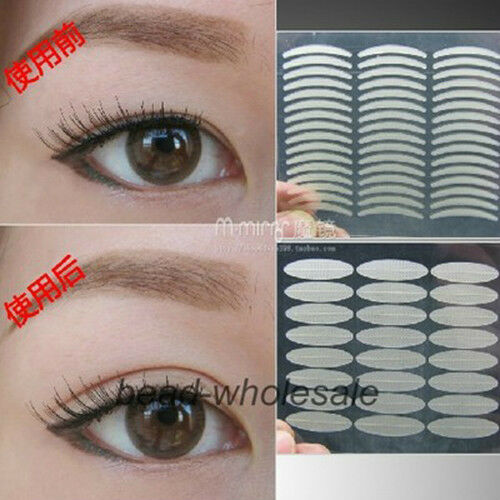 160 Pairs Wide/Narrow Eyelid Sticker Tape Technical Eye Tapes