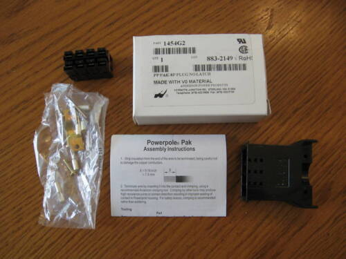 NEW Anderson Power Products 1454G2 connector plug PP Pak-8P no latch