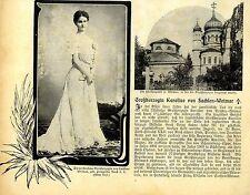 Großherzogin Karoline von Sachsen-Weimar ( verstorben ) 1905