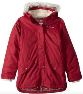 73e360bd02c1 Columbia Girls Carson Pass Mid Jacket L (14 16) Pomegranate Warm ...