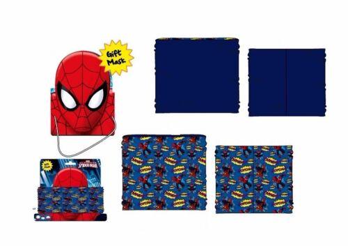 Spiderman Schlauchschal Snood Schal Tuch Mütze Stirnband Halstuch Junge Maske