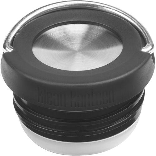 Black//Brushed Stainless Klean Kanteen TKWide Insulated Wide Loop Cap