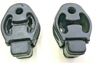 2-X-Ford-Focus-Cmax-1998-a-2012-Cuadro-De-Escape-Trasero-Central-Montaje-de-Suspension-de-Goma