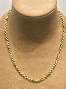 Collier-or-jaune-18K-maille-Jaseron-reguliere-or-jaune-44-cm