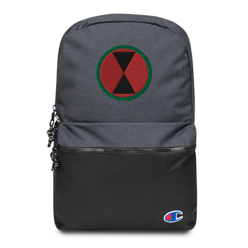 7th Infantry Division Champion Backpack As Effectively As A Fairy Does