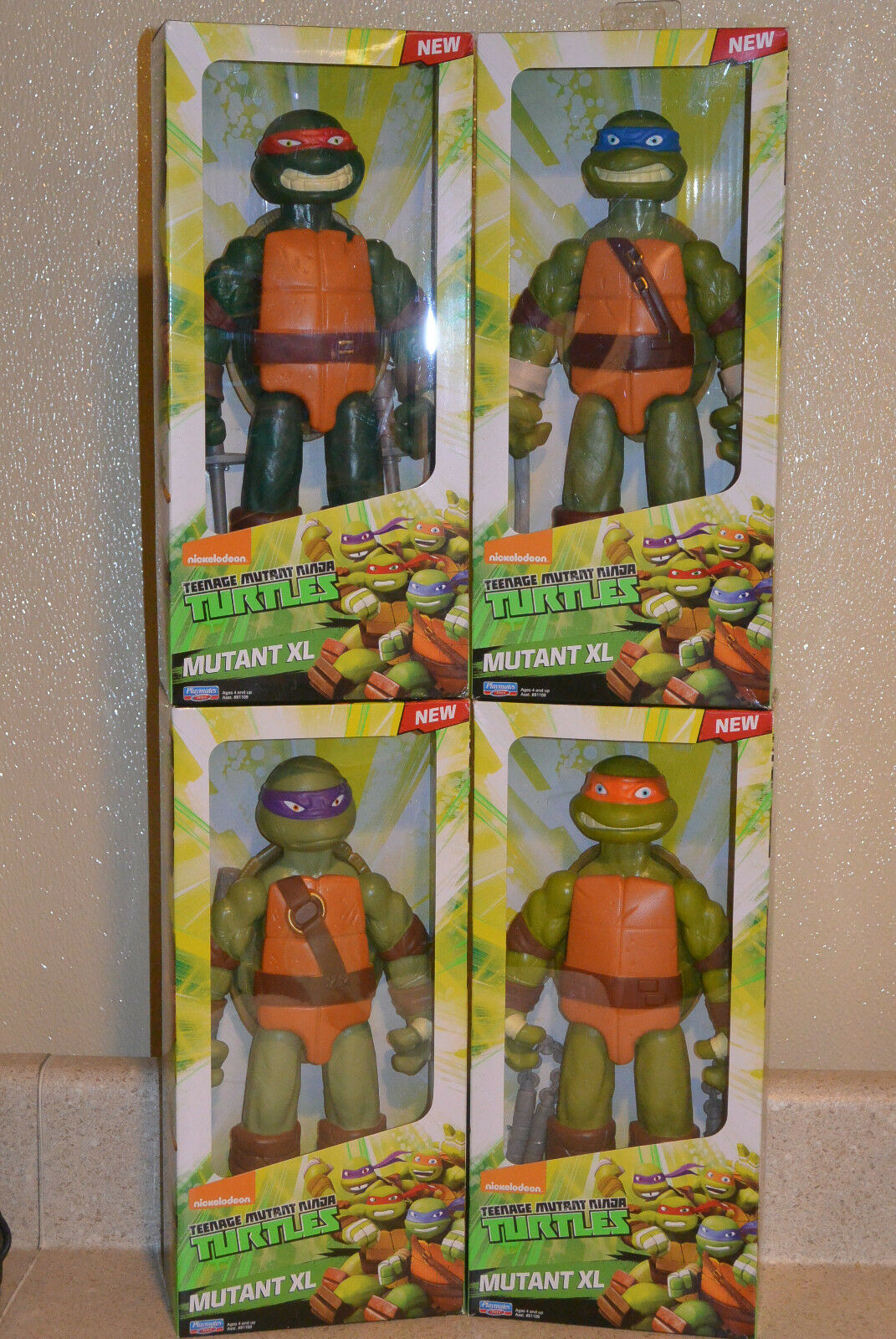 Teenage Mutant Ninja Turtles XL Lot of 11
