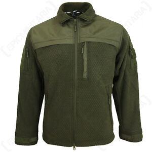 in Top Tutte misure le panno militare oliva Cappotto Hextac Verde in Giacca pile Nuovo verde Elite BgYxq4