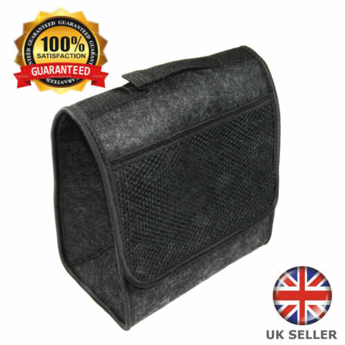 Carpet Car Organiser Storage Tidy Boot For Ford Focus ST Hatchback