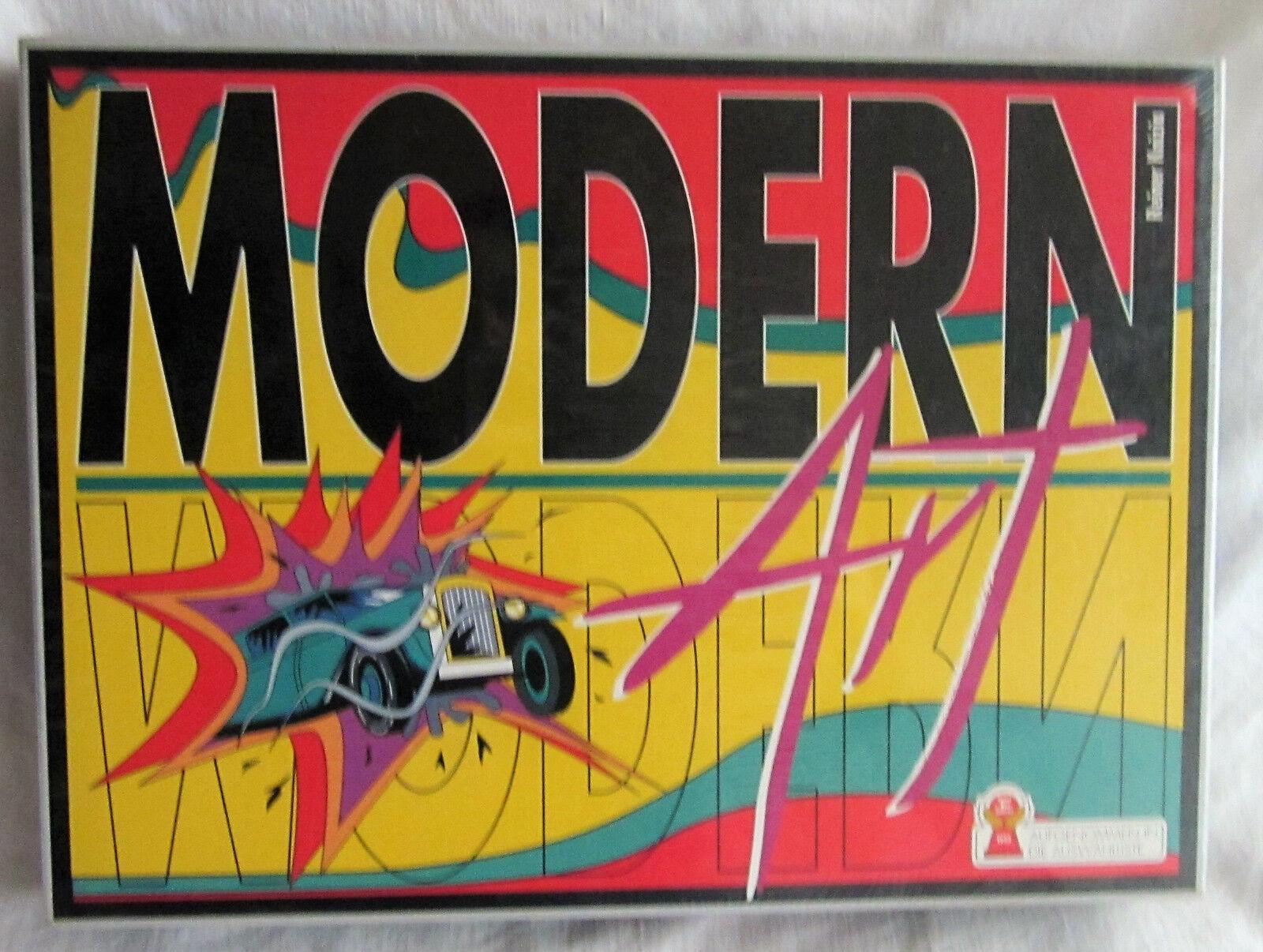 Modern Art Hans en Bonheur neuf dans sa boîte