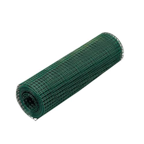 DRAHTGITTER DRAHT SCHWEISSGITTER SCHWEISS GITTER PVC 5M 19,0x19,0//1,10//1000