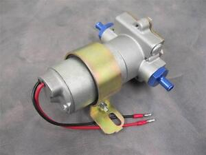 "High Flow Performance Electric Fuel Pump 130GPH Universal Fit 3//8/"" NPT Ports"