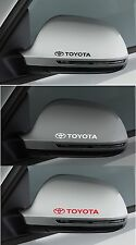 FOR TOYOTA  2 x Wing Mirror CAR DECAL STICKER ADHESIVE - SUPRA CELICA 100mm long