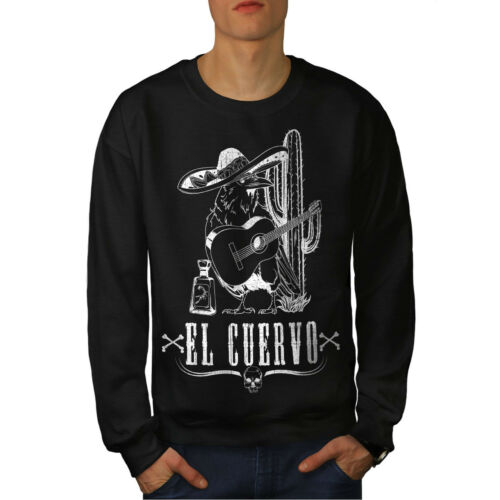 Animal Raven Mexica The Black Men Sweatshirt New 08EWvq