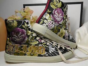 GUCCI BLIND FOR LOVE Floral High Top