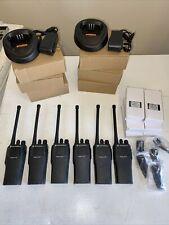6 Motorola Cp150 Radios Aah50kcc9aa1an Vhf 4 Ch 146174mhz L7
