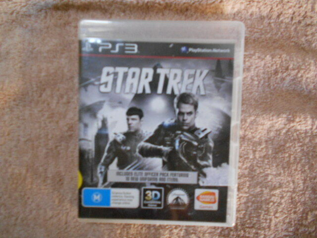 PS3 GAME STARTREK (2010) WITH BIOOKLET V GD COND - FAST POST