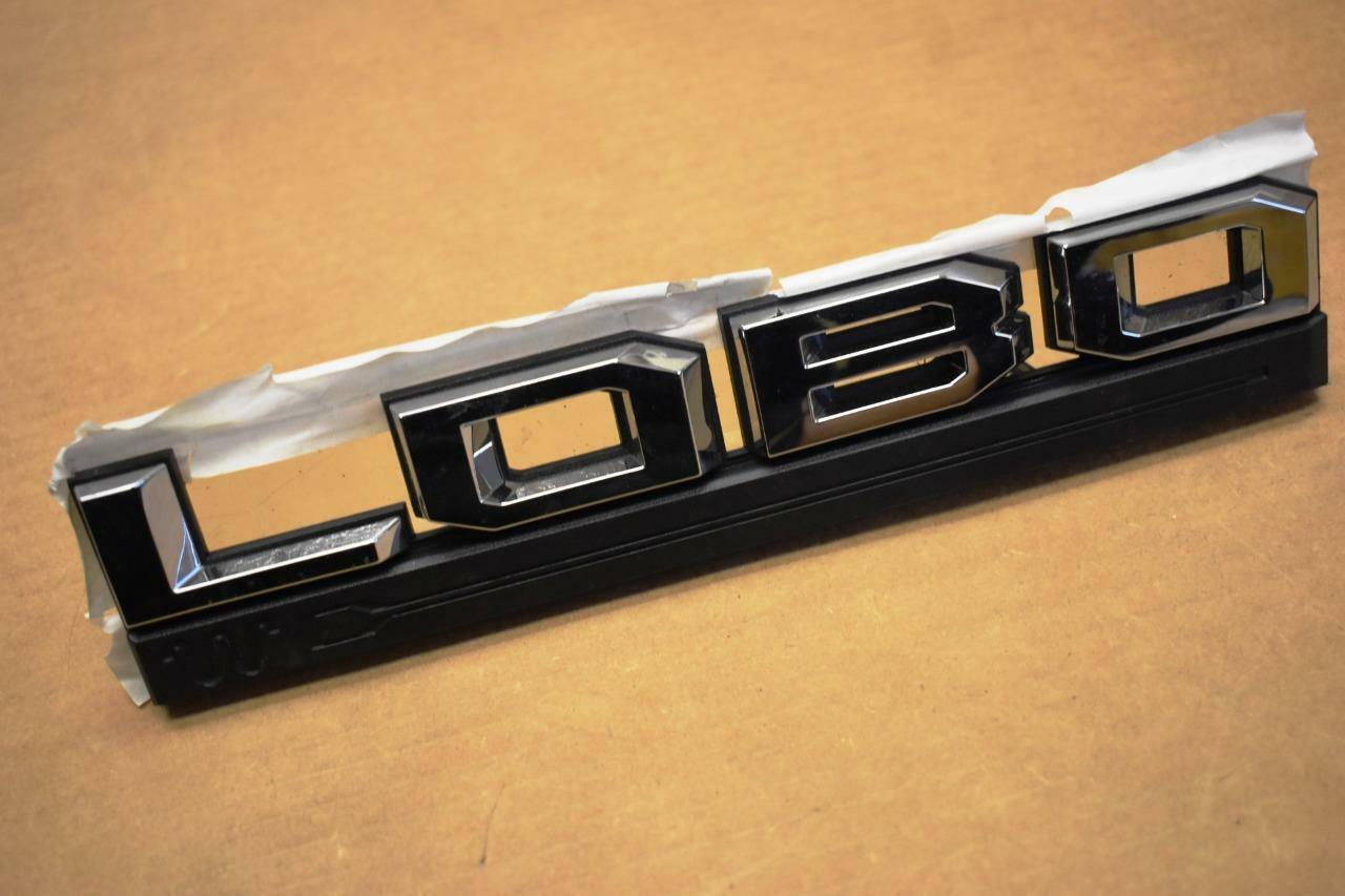 1set 2015-2016 Ford F-150 XLT Red /& Black Fender Emblem Nameplate Right Left Set