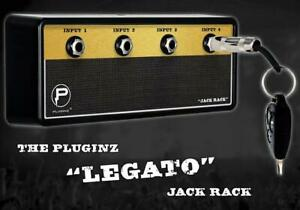 PlugInz Legato Jack Rack With 4 Keychains With Mounting - IN BOX &