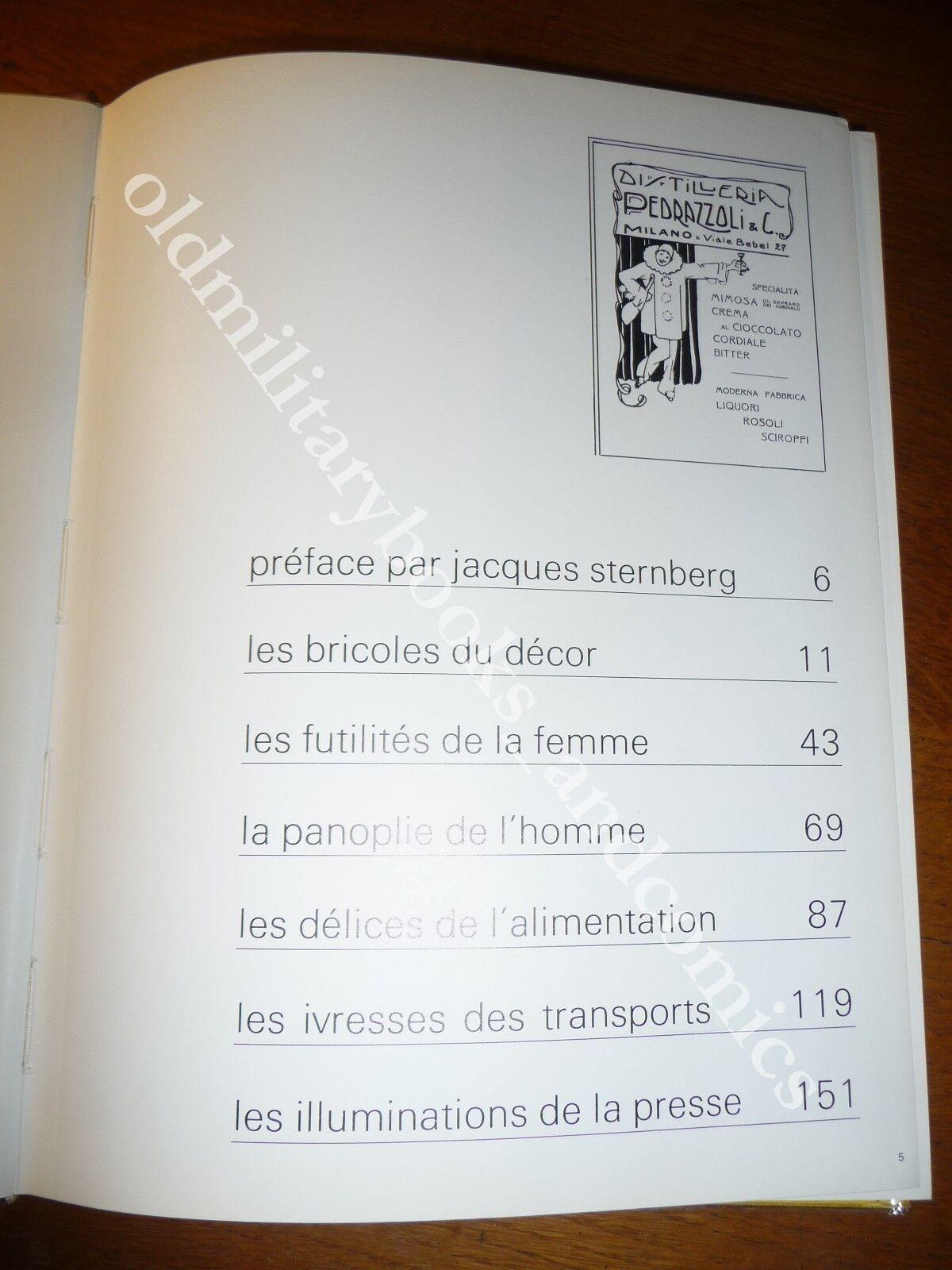 LES CHARMES DE LA PUBLICITE LA DONNA NELLE PUBBLICITA E NELL'ARTE DEL LIBERTY