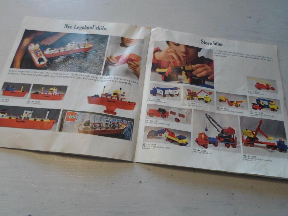 Bøger og blade, Lego katalog 1973