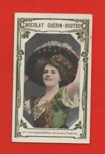 Kitschbild Guérin Boutron - 371 - Germaine Walisisch - Schau den Sorten (K7221)