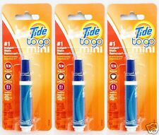 3 pens tide to go mini 1 instant stain remover food coffee work travel 35