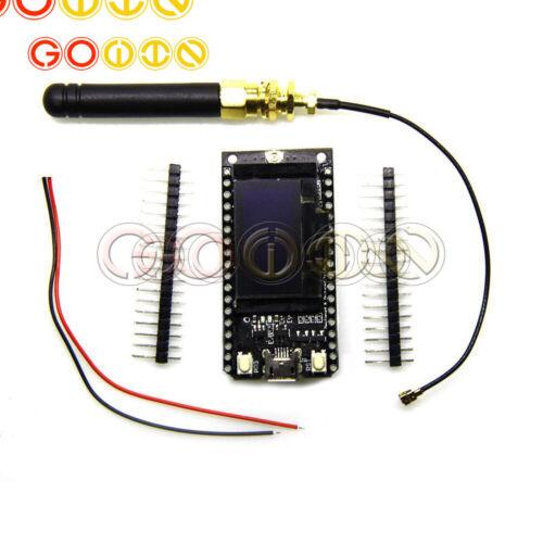 TTGO LORA32 868//915Mhz ESP32 LoRa OLED 0.96/'/' Bluetooth WIFI Antenna NEW