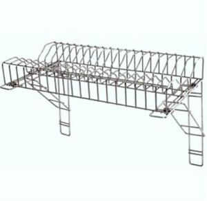 Image is loading Stainless-Steel-Plate-Rack-&-2-Wall-Brackets-  sc 1 st  eBay & Stainless Steel Plate Rack \u0026 2 Wall Brackets 36\