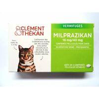 Milprazikan Vermifuge Pour Chat Boite De 2 Comprimés