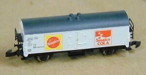 """Humour Sinalco Refrigerated Wagon """"boxed"""" By Marklin Z Gauge (z185) En Quantité LimitéE"""
