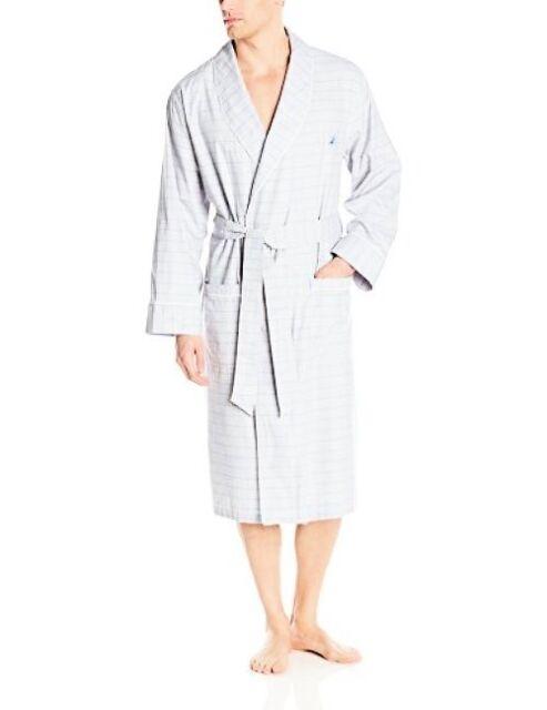 Choose SZ//Color. Nautica Mens Underwear 103116 Sultan Stripe Woven Robe