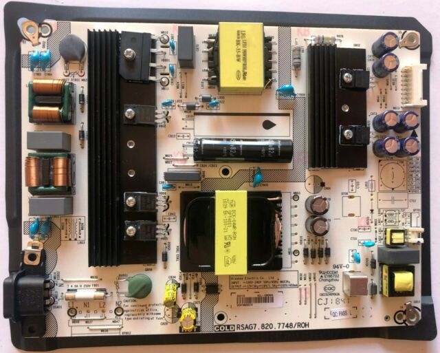 Power Supply Board RSAG7.820.7748//ROH 222172 for Hisense 55R6E 50R6E
