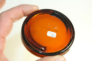 af1d5e3a0f20 Details about AMBER COLUMBIA FRUIT JAR LID