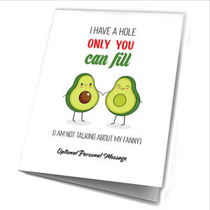 Anniversary Card Personalised Rude Funny Adult Gifts Husband Boyfriend Him