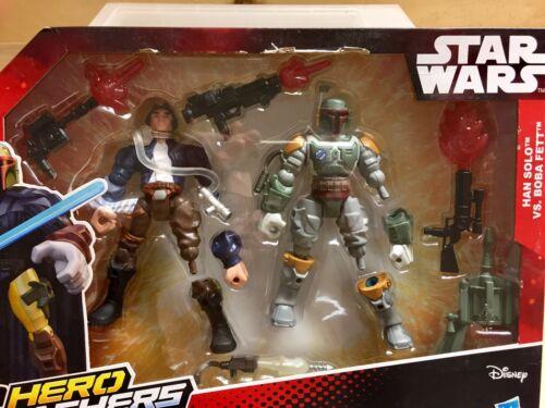 STAR Wars-Hero Mashers-HAN SOLO VS Boba Fett