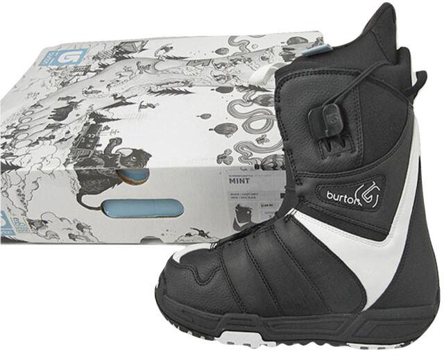 c04673204e NEW Burton Mint Snowboard Boots! US 5.5 UK 3.5 Euro 36 Mondo 22.5 Black