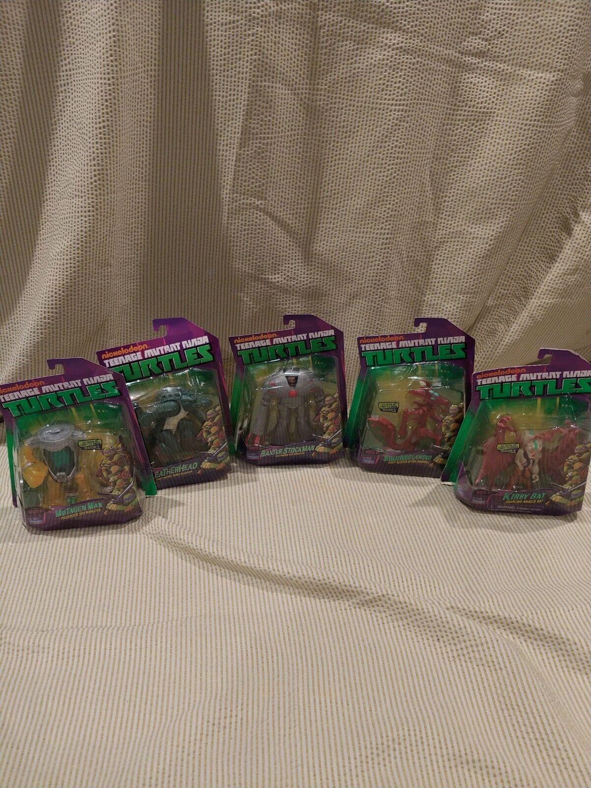 Teenage Mutant Ninja Turtles Action Figures - Toy lot - 5 items