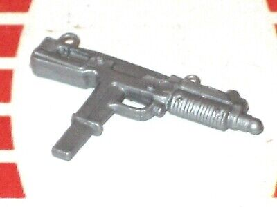 GI Joe Weapon LAW Silver Uzi Gun Original Figure Accessory