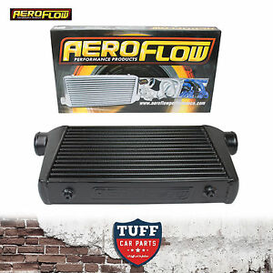 Aeroflow-450x300x76-Alloy-Intercooler-Black-with-3-034-Inlet-Outlet-AF90-1001BLK
