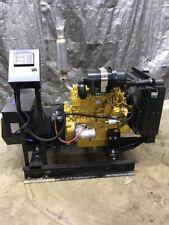 New 25 Kw Caterpllar Generator C24 Diesel 120240 Volt Single Phase Cat