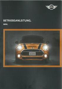 MINI-MINI-Betriebsanleitung-2017-Bedienungsanleitung-Handbuch-Bordbuch-BA