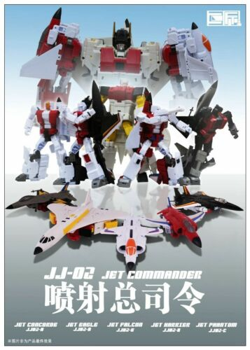 Transformers JJ-02 Jet Commander G1 Superion Combination Robot Toy NEW In stock