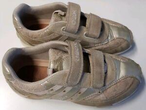 Details zu Geox Schuhe Sneaker Halbschuhe Gr. 32 mit Klettverschluss, beige