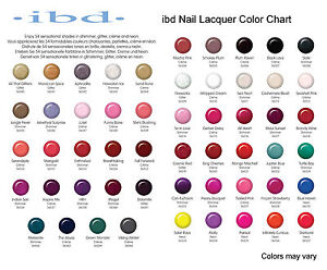 IBD Nail Lacquer 14ml - All Colours available! | eBay