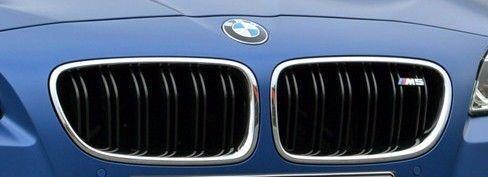 BMW 51 13 8 059 945 F10 2012 M5 GRILL EMBLEM BADGE W// OUT HOUSING NEW GENUINE