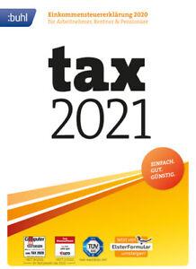 Buhl - tax 2021 (für Steuerjahr 2020), Downloadversion (Key), Windows (PC)