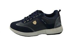 6e962cc2bb3515 Caricamento dell'immagine in corso Scarpe-Uomo-Casual-Navigare-Sneaker -Vero-camoscio-e-