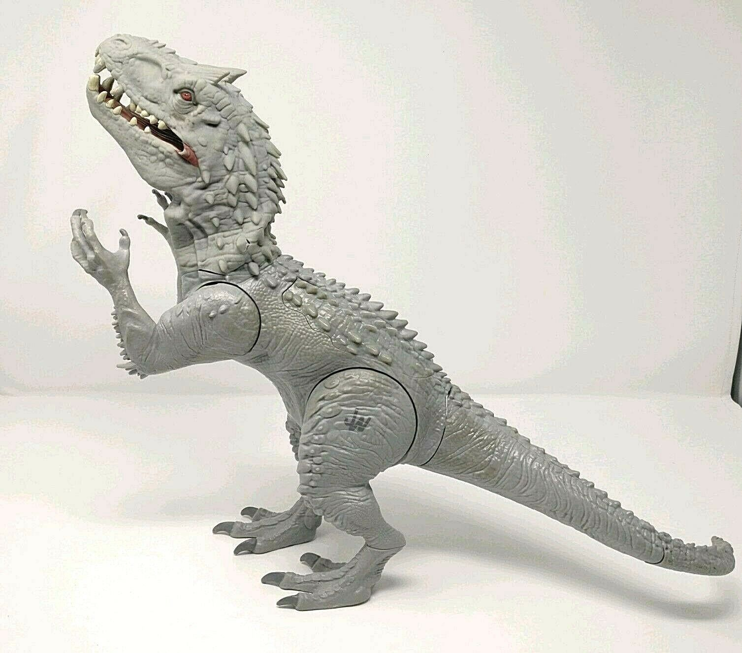 Jurassic World INDOMINUS REX 20  ROARING Light Up Sounds JW 2014 Hasbro Working