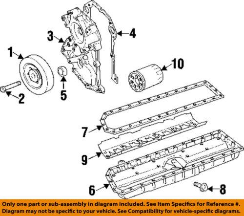Dodge CHRYSLER OEM 92-06 Viper-Engine Harmonic Balancer 5037551AB
